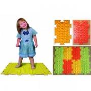 Массажный коврик-пазл из 8 пазлов