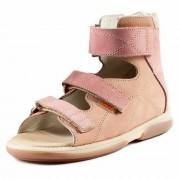 Детские ортопедические сандалии Memo Helios 1JB бежево-розовые (р.31)