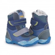 Детские ортопедические ботинки зимние Memo Aspen 1DA cиние (р.24)