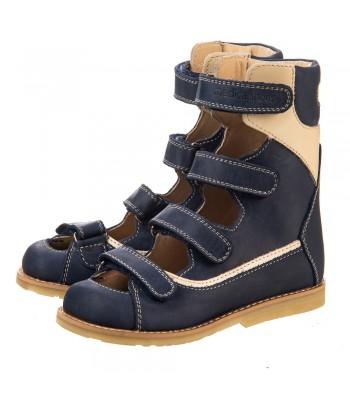 Стабилизирующие Антиварусные босоножки с бортиком Medica Shoes мод. Rose-AV (р.19-32)